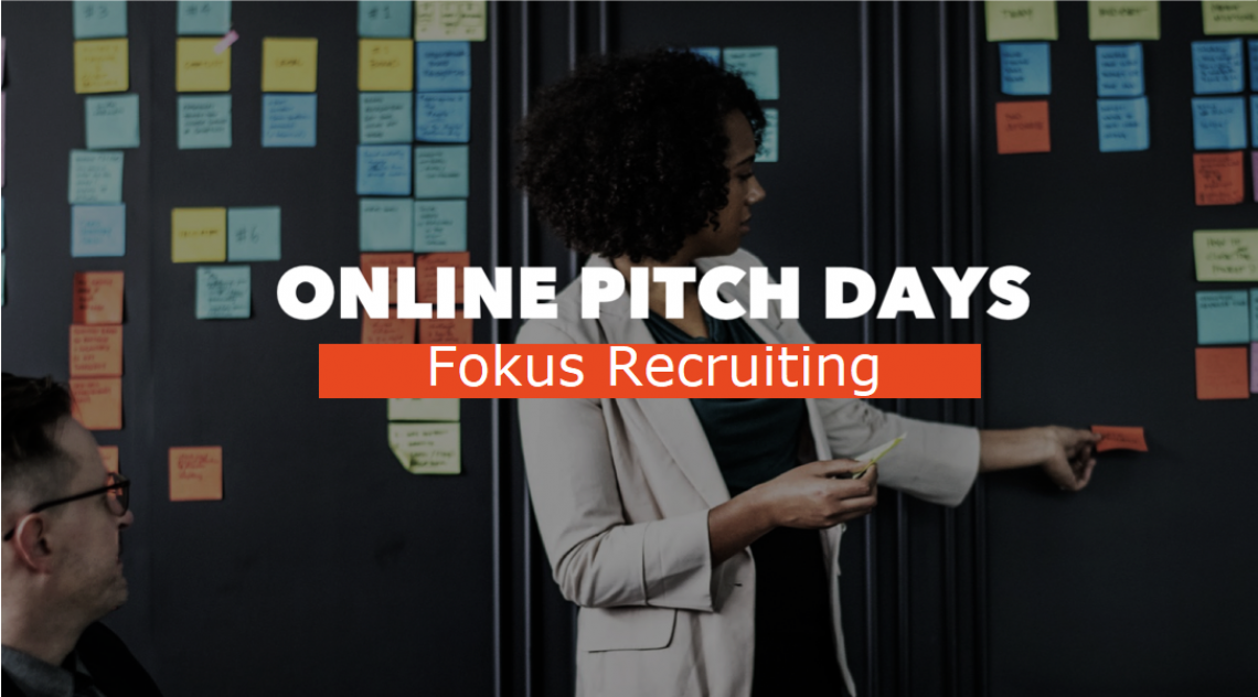 ONLINE PITCH DAY: Fokus Recruiting