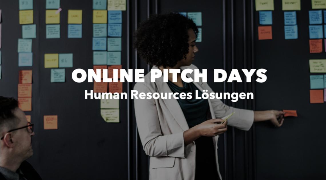 ONLINE PITCH DAY: Human Resources Lösungen am 02.07.2020