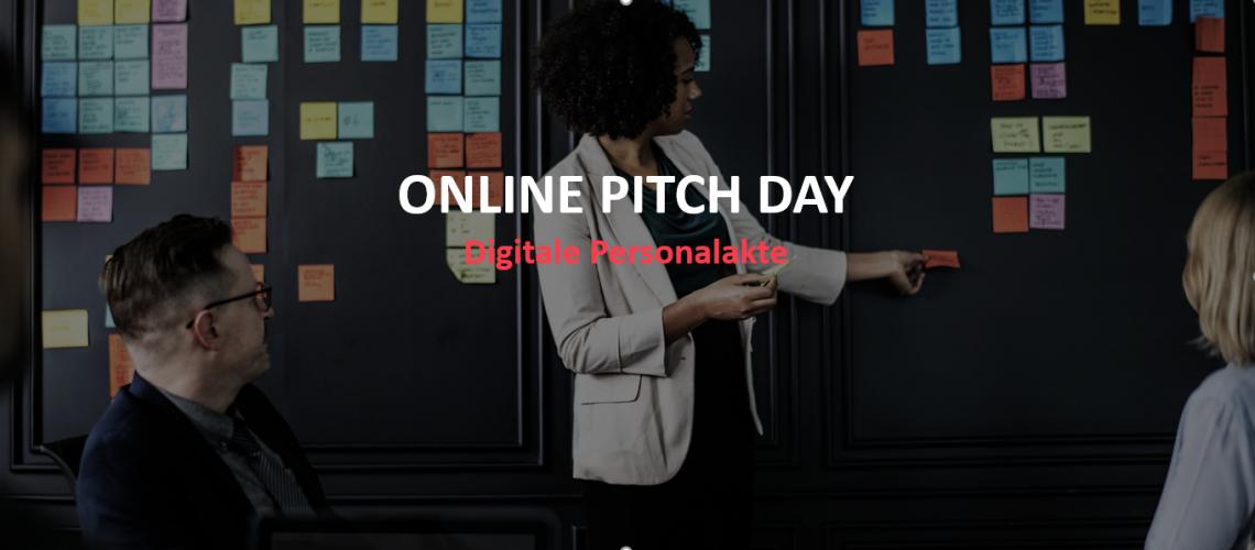 ONLINE PITCH DAY Digitale Personalakte von: Personio, Aconso und Agenda
