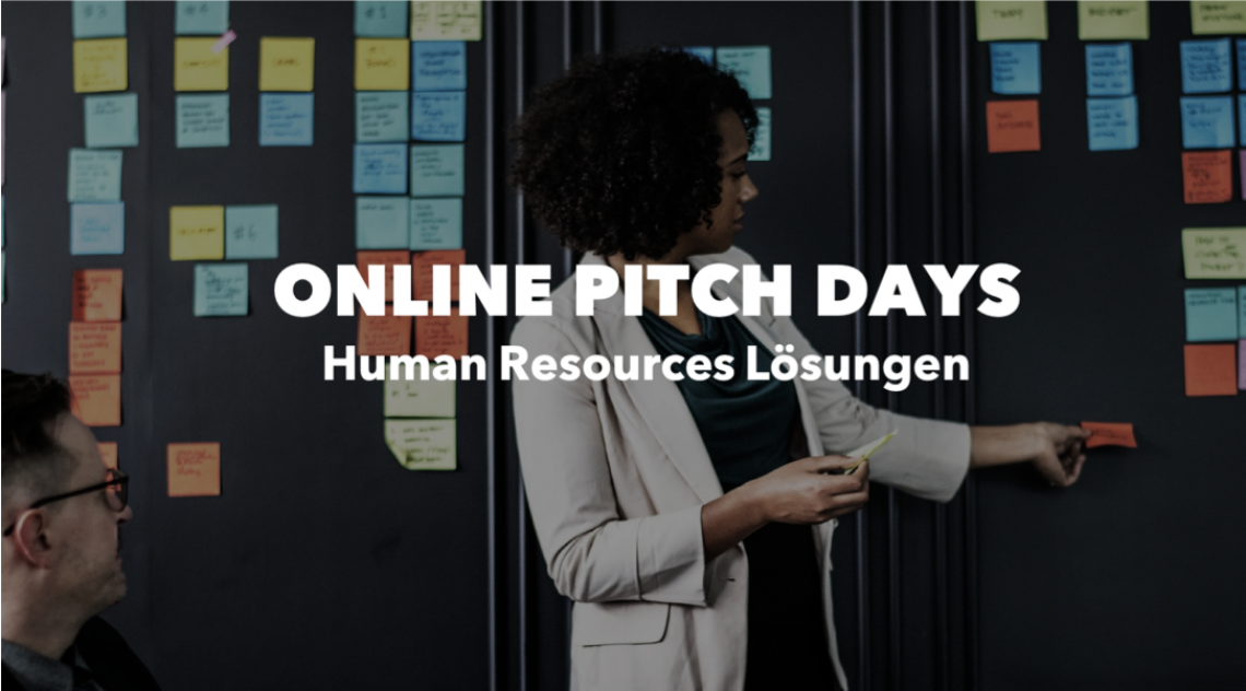 ONLINE PITCH DAY: Human Resources Lösungen am 20.10.2020