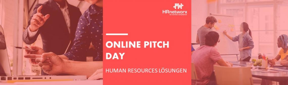 ONLINE PITCH DAY: Human Resources Lösungen am 04.02.2021