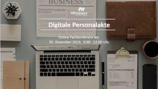 Online Fachkonferenz 'DIGITALE PERSONALAKTE'